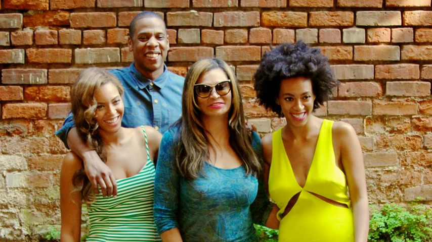 Beyoncé, Jay-Z, Solange Knowles und Tina Knowles