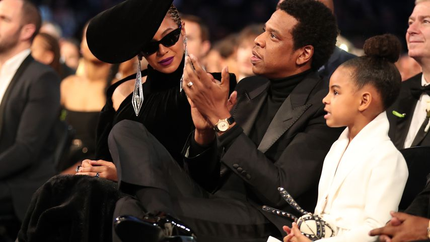 Beyoncé, Jay-Z und Blue Ivy Carter bei den Grammy Awards 2018