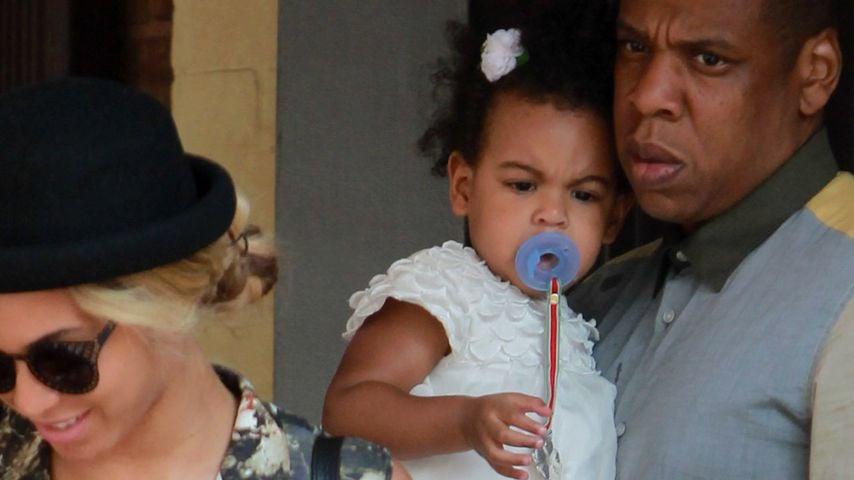 Beyonce, Jay-Z und Blue Ivy Carter in Italien