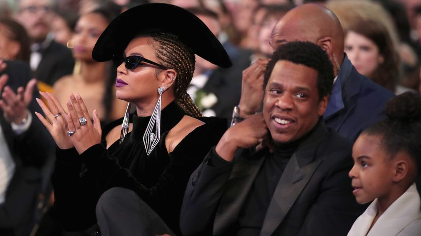 Beyonce, Jay-Z und Blue Ivy bei den Grammy Awards 2018