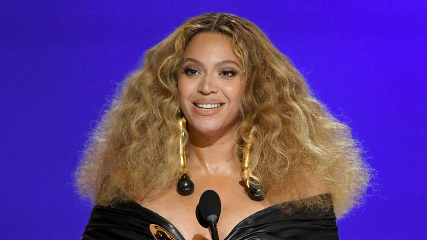 Beyoncé bei der Grammy-Verleihung im Jahr 2021