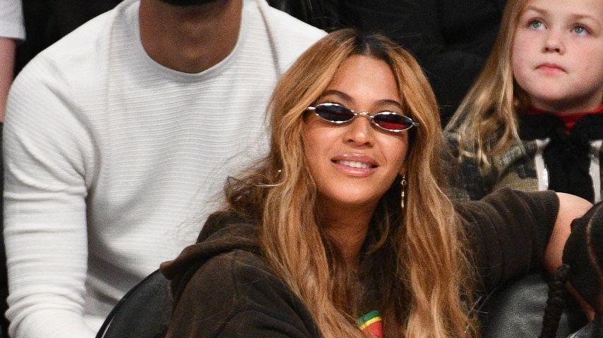 Beyonce beim NBA All-Star Game