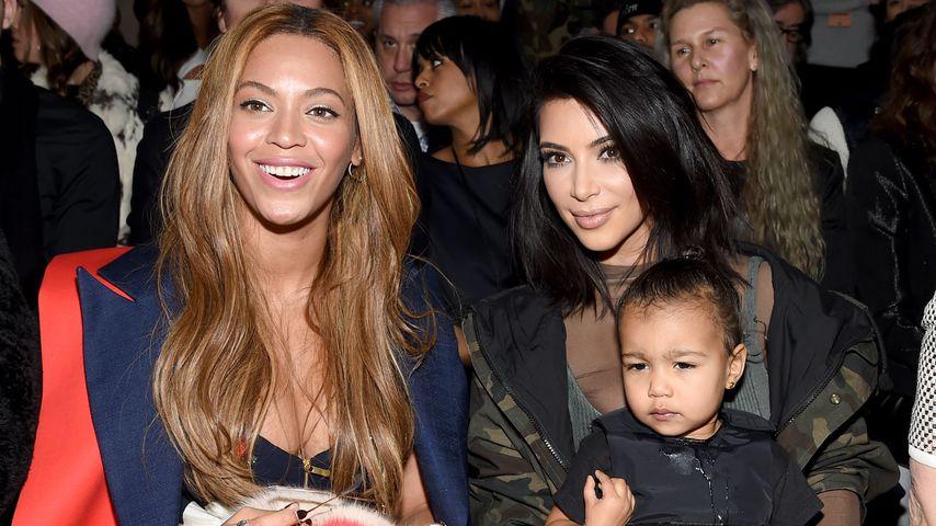 Großzügige Beyoncé: Diamant-Armband für Kim Kardashians Baby