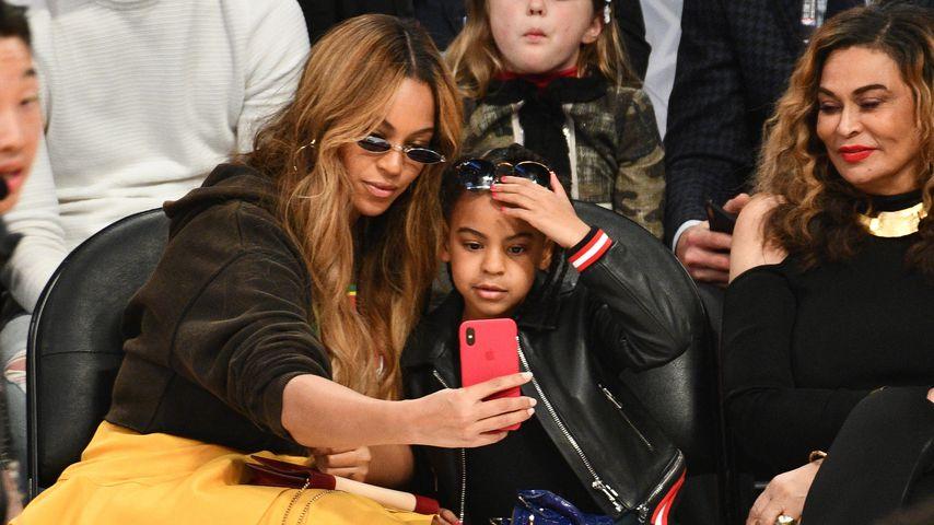 Beyoncé und Blue Ivy Carter im Februar 2018