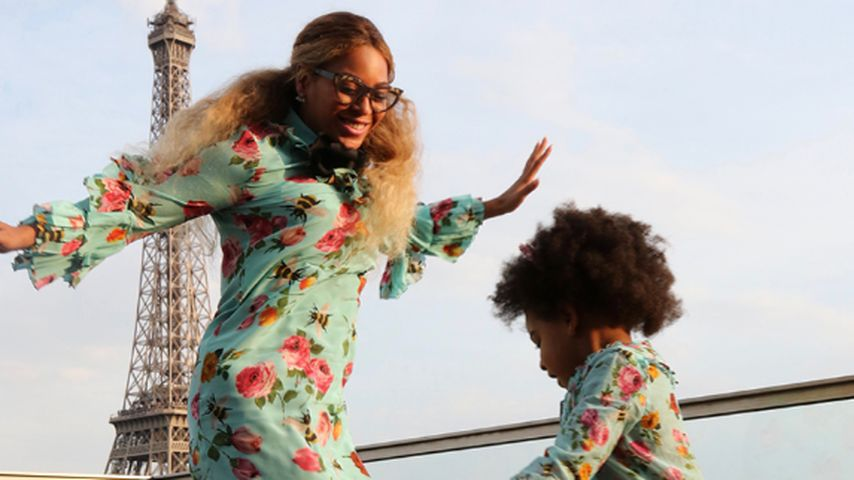 Paris-Partnerlook: So groß ist Beyoncés Tochter Blue schon!