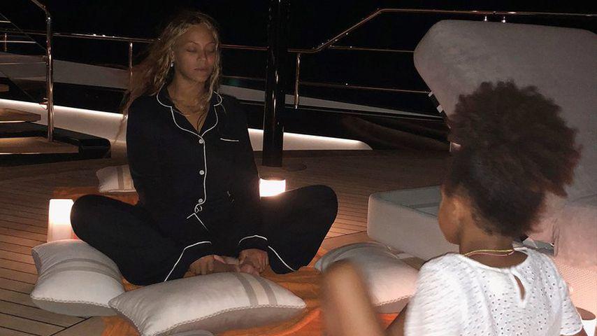 Beyoncé und Blue Ivy im Urlaub