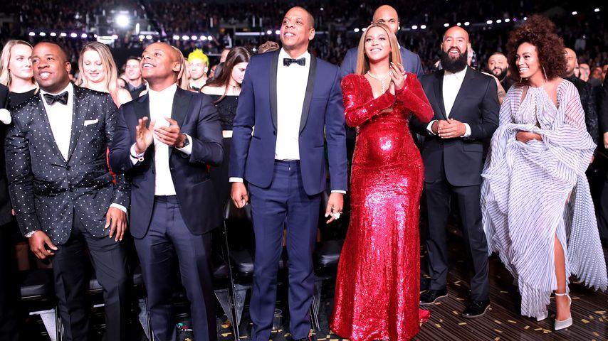 Beyoncé und Jay-Z bei den Grammy Awards 2017