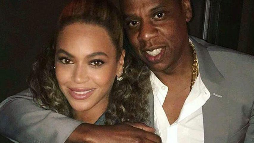 Sängerin Beyoncé und Rapper Jay-Z