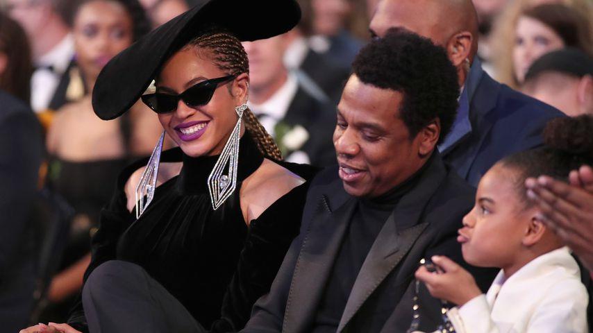 Beyoncé, Jay-Z und Blue Ivy bei den Grammy Awards 2018