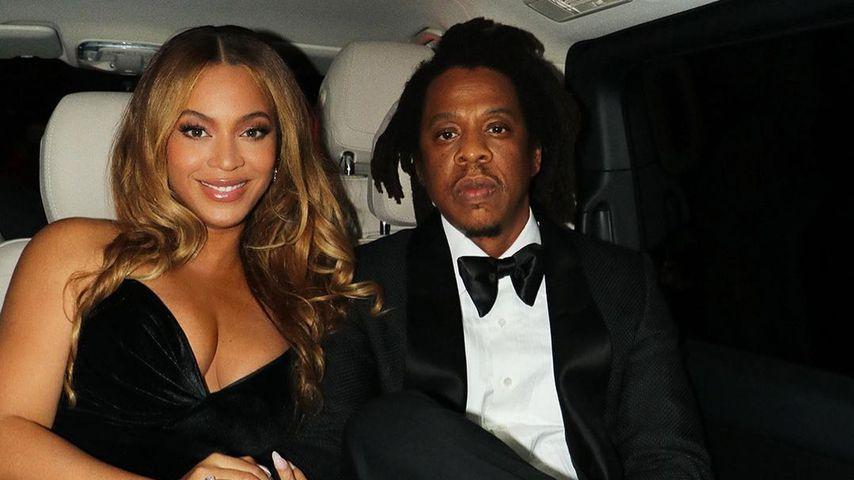 Beyoncé und Jay-Z im Oktober 2021