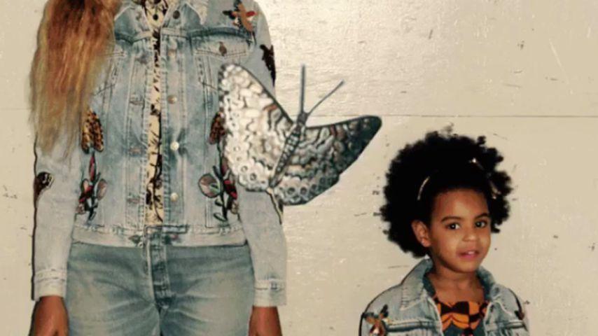 Fashion-Duo: Beyoncé & Tochter Blue Ivy sind Style-Zwillinge
