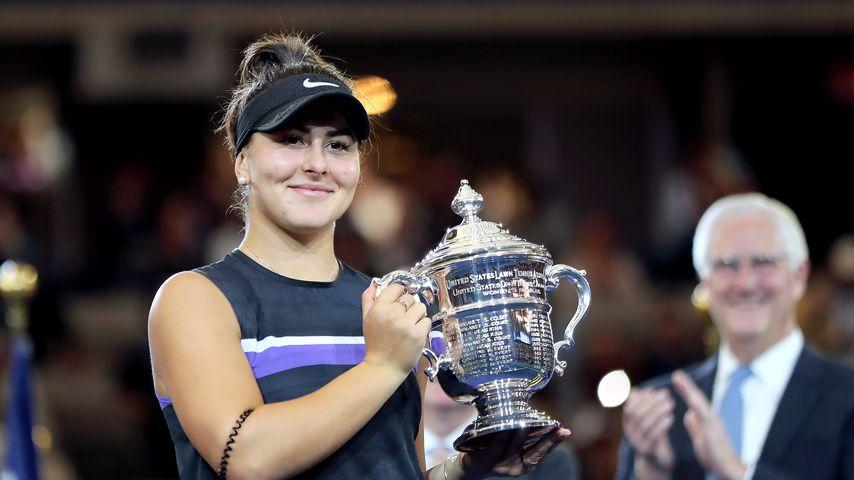 Bianca Andreescu beim US-Open-Finale 2ß19