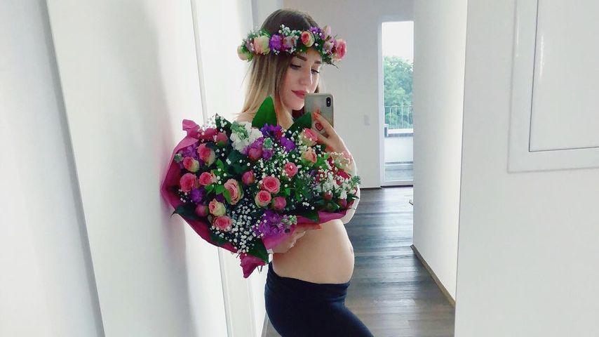 Schwangere Bibi Heinicke: So viel hat sie bislang zugenommen