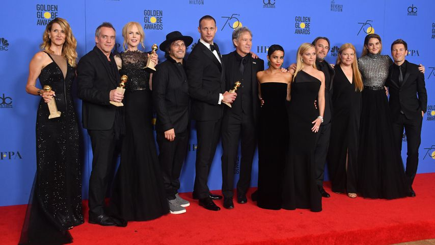 """Big Little Lies""-Cast bei den Golden Globes 2018"