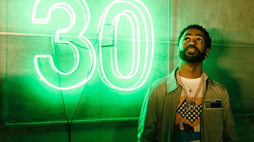 Big Sean an seinem 30. Geburtstag