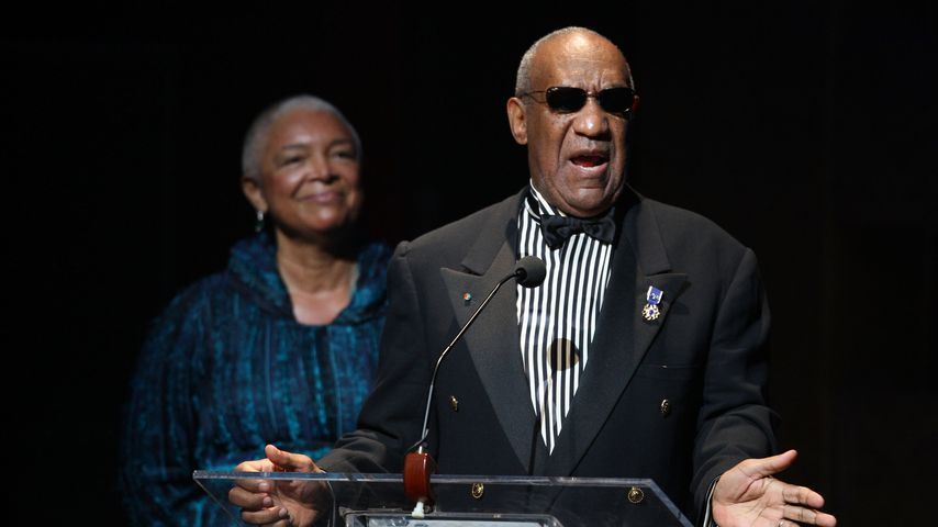 Bill und Camille Cosby im Apollo Theater in New York