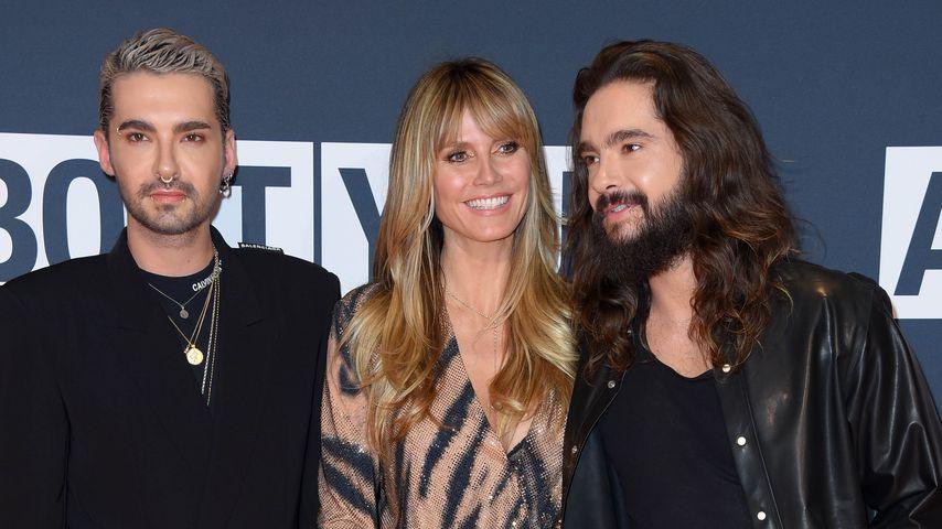 Bill Kaulitz, Heidi Klum und Tom Kaulitz bei den About You Awards 2019