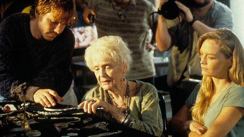 """Bill Paxton während des """"Titanic""""-Filmdrehs"""