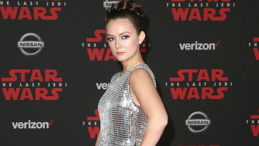 """Billie Lourd auf der """"Die letzten Jedi""""-Premiere in Los Angeles"""
