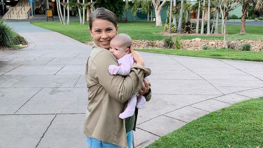 Bindi Irwin mit ihrer Tochter Grace, Mai 2021