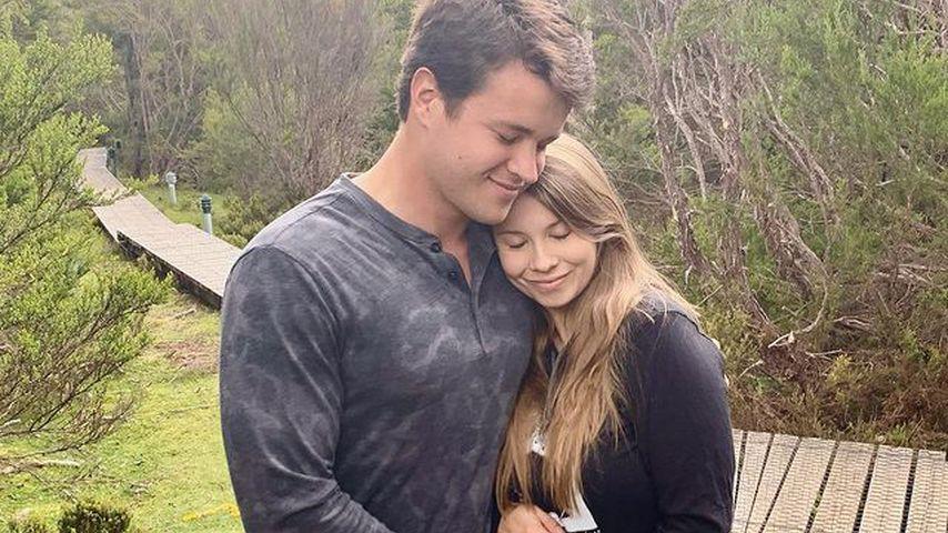 Bindi Irwin mit ihrem Mann Chandler