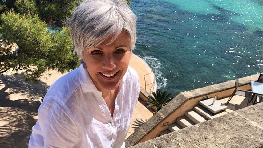 Birgit Schrowange auf Mallorca