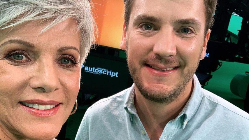 Birgit Schrowange und Bauernreporter Ralf Herrmann