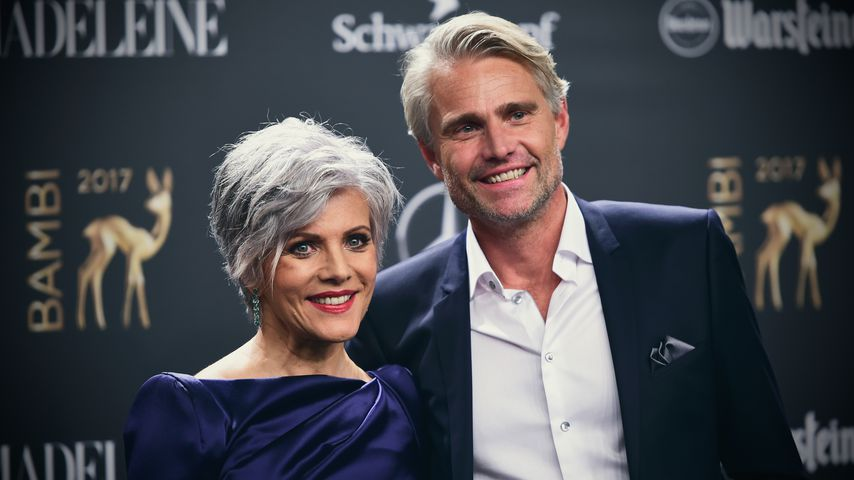 Birgit Schrowange und Frank Spothelfer bei der Bambi-Verleihung