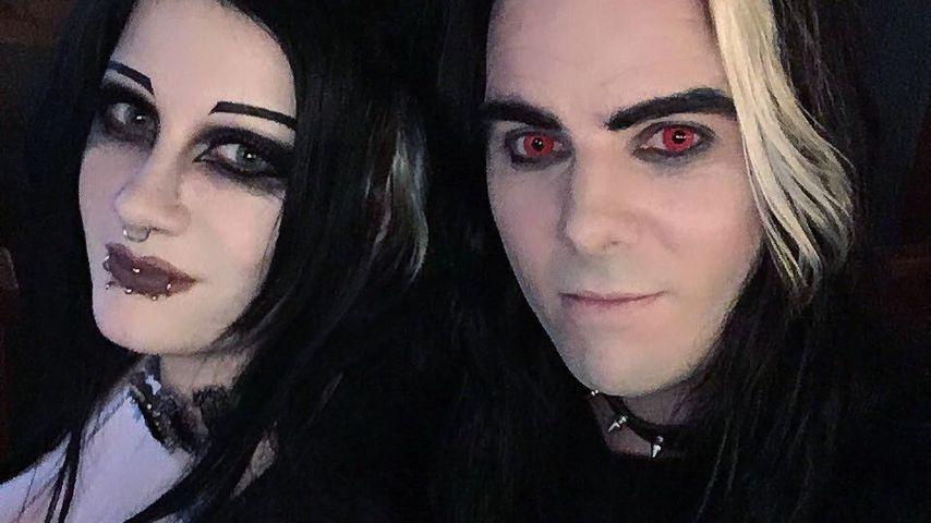 Nach Blitz-Ehe & Trennung: Goth-YouTuberin mit Ex zusammen!