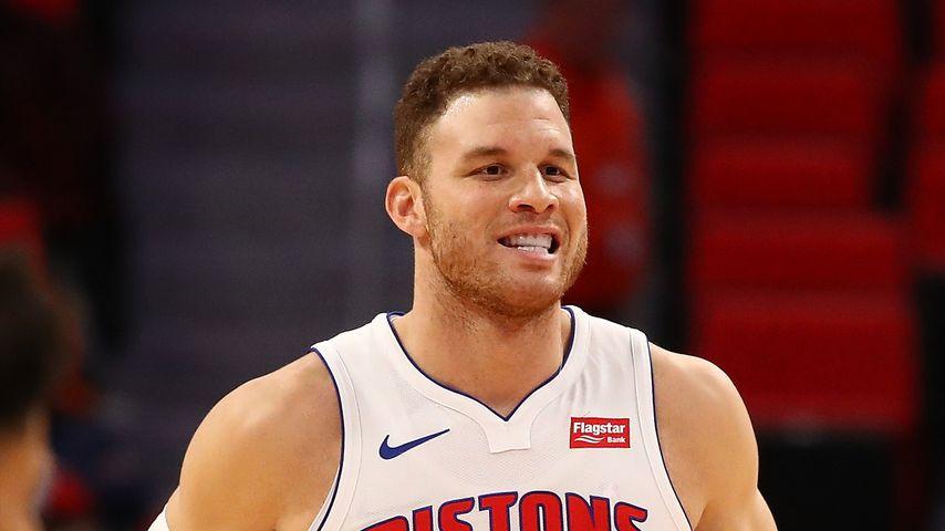 Blake Griffin, Profibasketballer der Detroit Pistons