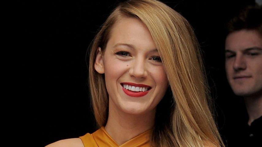 Wow-Effekt: Blake Lively überrascht in Senf-Gelb