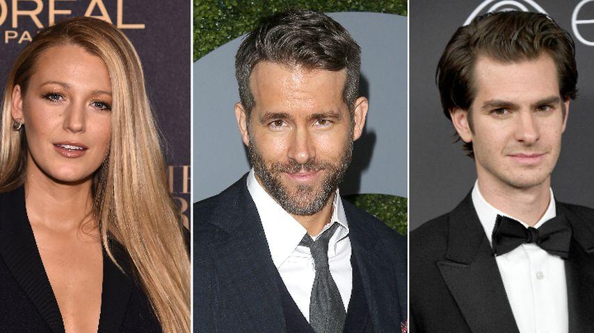 Wer küsst besser, Ryan – Blake Lively oder Andrew Garfield?