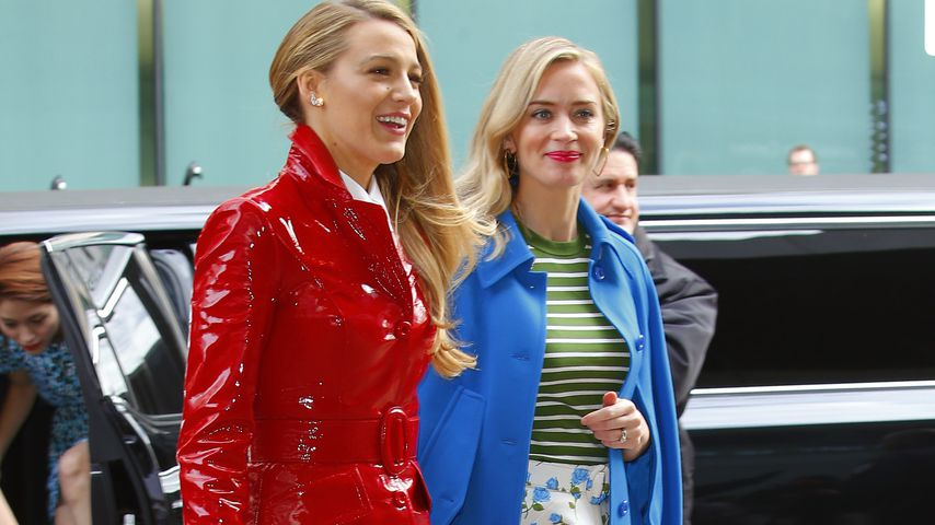 Blake Lively und Emily Blunt auf der New York Fashion Week