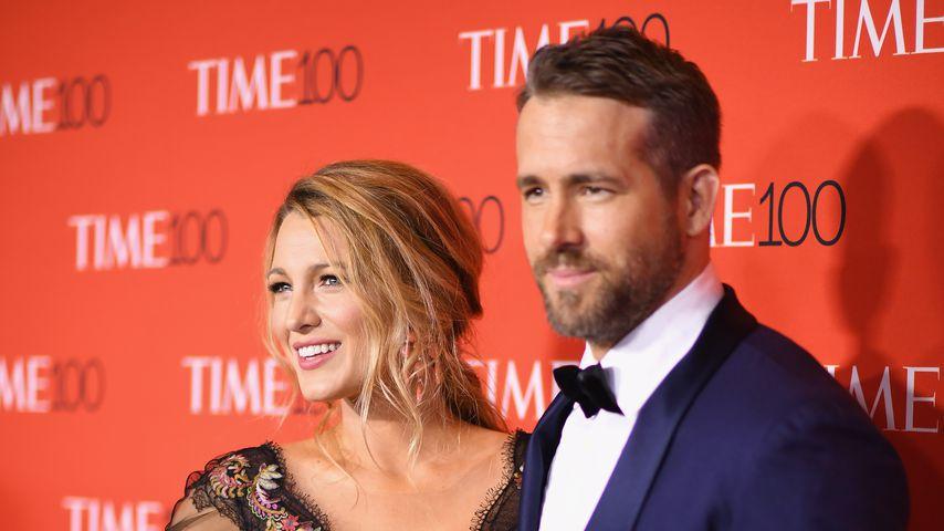 """Blake Lively und Ryan Reynolds bei der """"Time 100 Gala"""" 2017"""