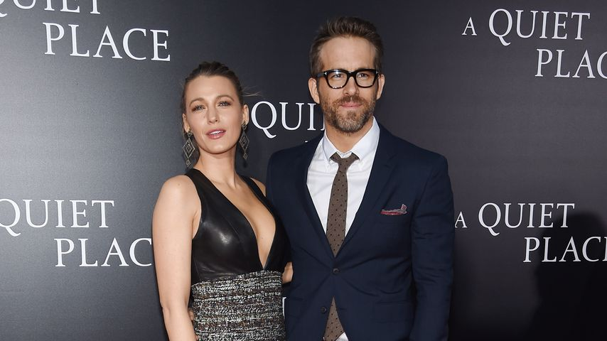"Blake Lively und Ryan Reynolds bei der ""A Quiet Place""-Premiere in New York City"