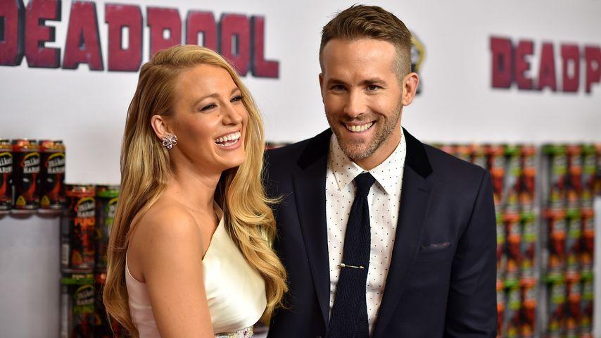 """Blake Lively und Ryan Reynolds bei der Premiere von """"Deadpool"""" in New York"""
