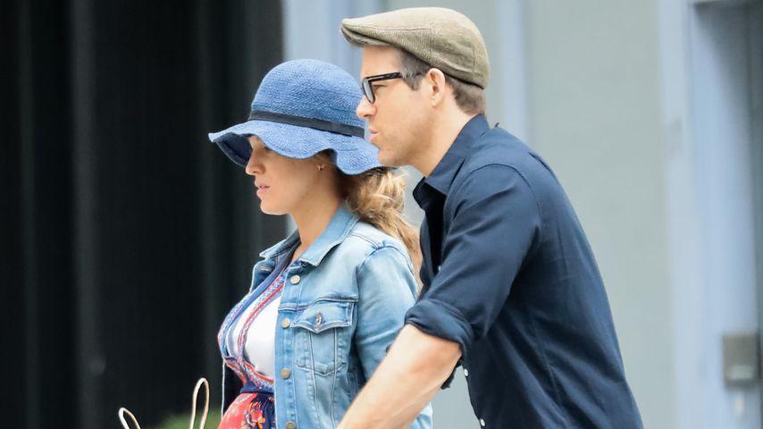 Schwangere Blake Lively und Ryan Reynolds, Juni 2019
