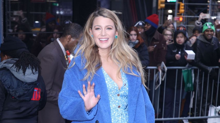 "Blake Lively auf Promotion-Tour von ""The Rhythm Section"" im Januar 2020"