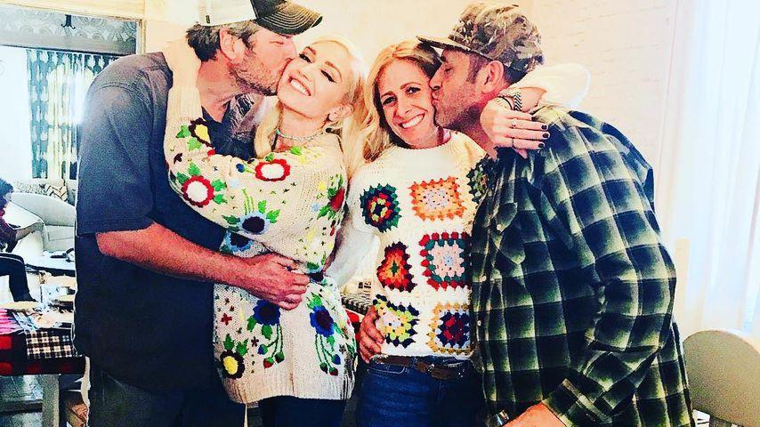 Zu Thanksgiving: Zeigt Gwen Stefani hier einen Baby-Bauch?