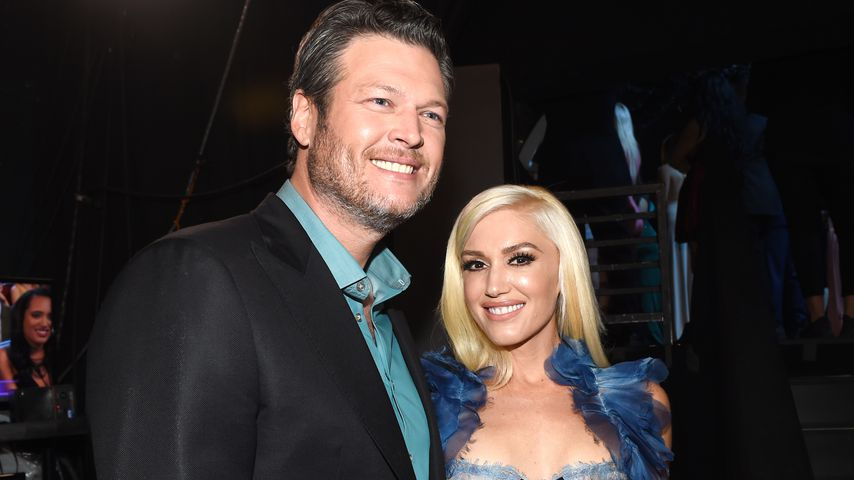 Blake Shelton und Gwen Stefani bei den People's Choice Awards 2017