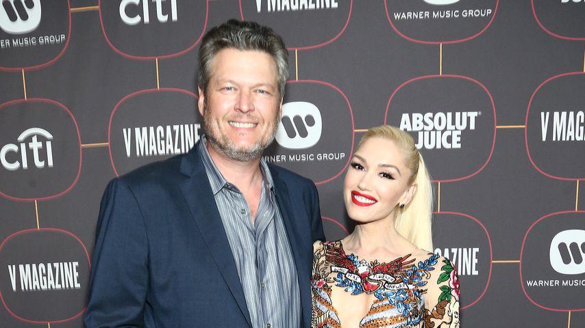 Blake Shelton und Gwen Stefani im Januar 2020