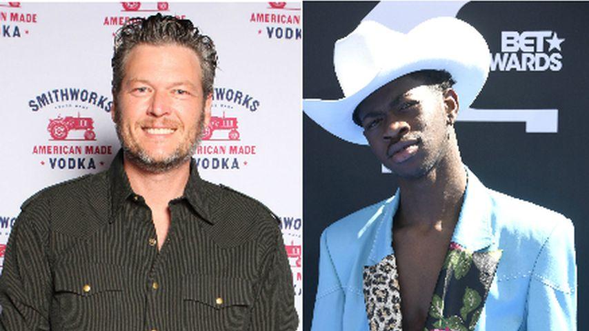 Blake Shelton dementiert den verbalen Angriff auf Lil Nas X