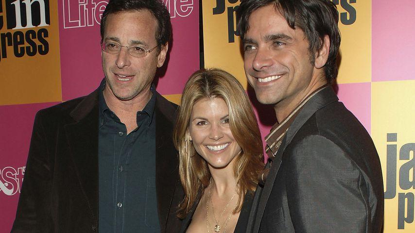 "Bob Saget, Lori Laughlin und John Stamos bei der ""Jake in Progress""-Premiere in L.A. im Januar 2006"