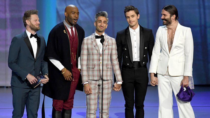 """Der """"Queer Eye""""-Cast in L.A., September 2018"""
