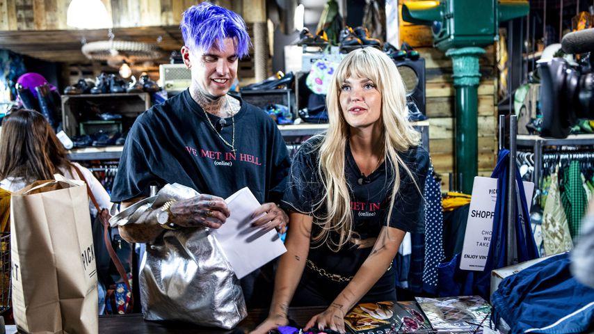 """Bobby und Bonnie Strange bei """"Promi Shopping Queen"""""""
