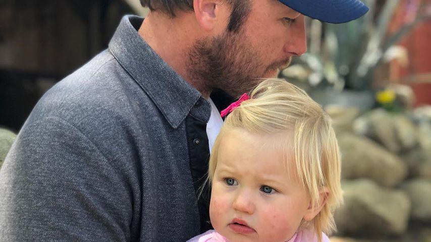 Olympia-Star Bode Miller und seine Tochter Emeline