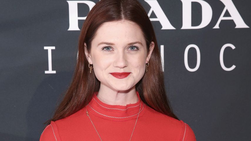 Bonnie Wright in New York City