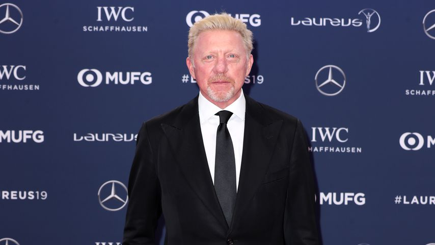 Boris Becker bei den Laureus World Sports Awards 2019