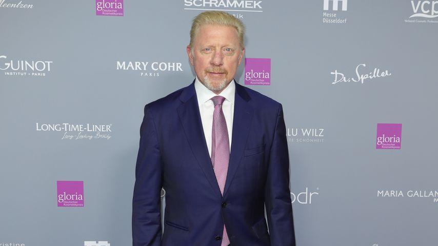 Boris Becker beim Deutschen Kosmetikpreis in Düsseldorf 2019