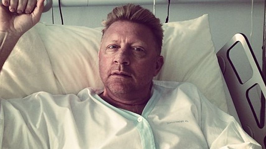 OP überstanden: Boris Becker grüßt aus Krankenbett